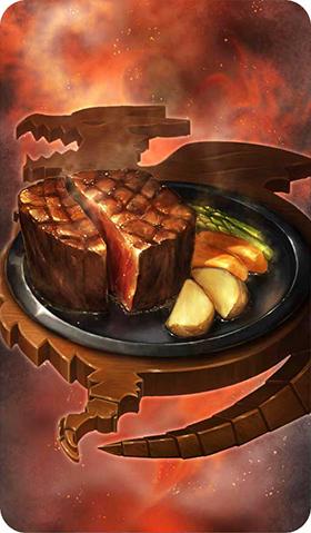 《命运冠位指定》碳烤瑞典火龙上腰肉图鉴