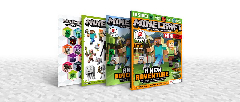 《我的世界》官方杂志于英国发售,不久进入北美市场