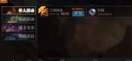 《剑侠世界》江湖阅历获取方法