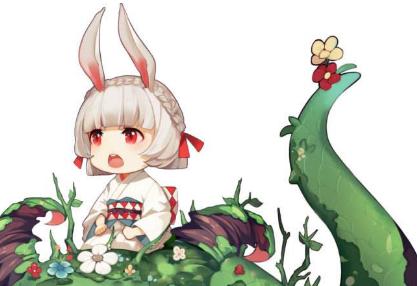《阴阳师》兔中之王 山兔VS兔丸