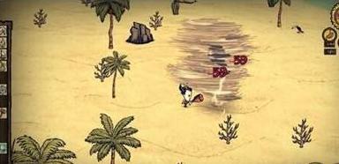 《饥荒》手机版海滩龙卷风打法