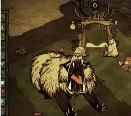 《饥荒》手机版冬季熊打法攻略