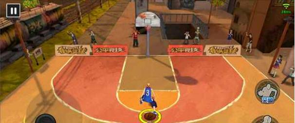 《街头篮球手游》晃人技巧详解