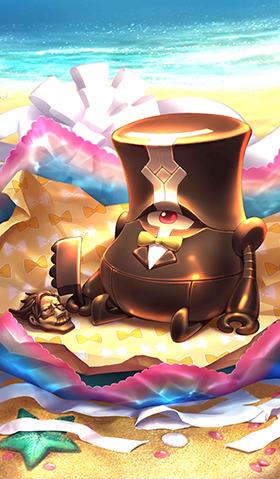 《命运冠位指定》蒸汽电子巧克力礼装图鉴