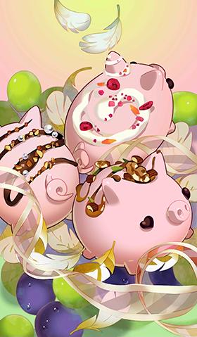 《命运冠位指定》粉红色的小猪礼装图鉴