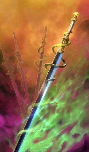 《命运冠位指定》项羽之剑礼装图鉴