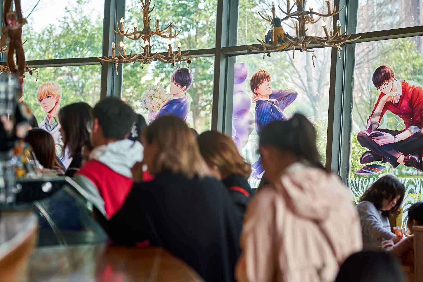 恋与制作人X ZOO COFFEE主题咖啡厅心动来袭