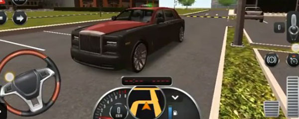 出租车模拟3d怎么开车