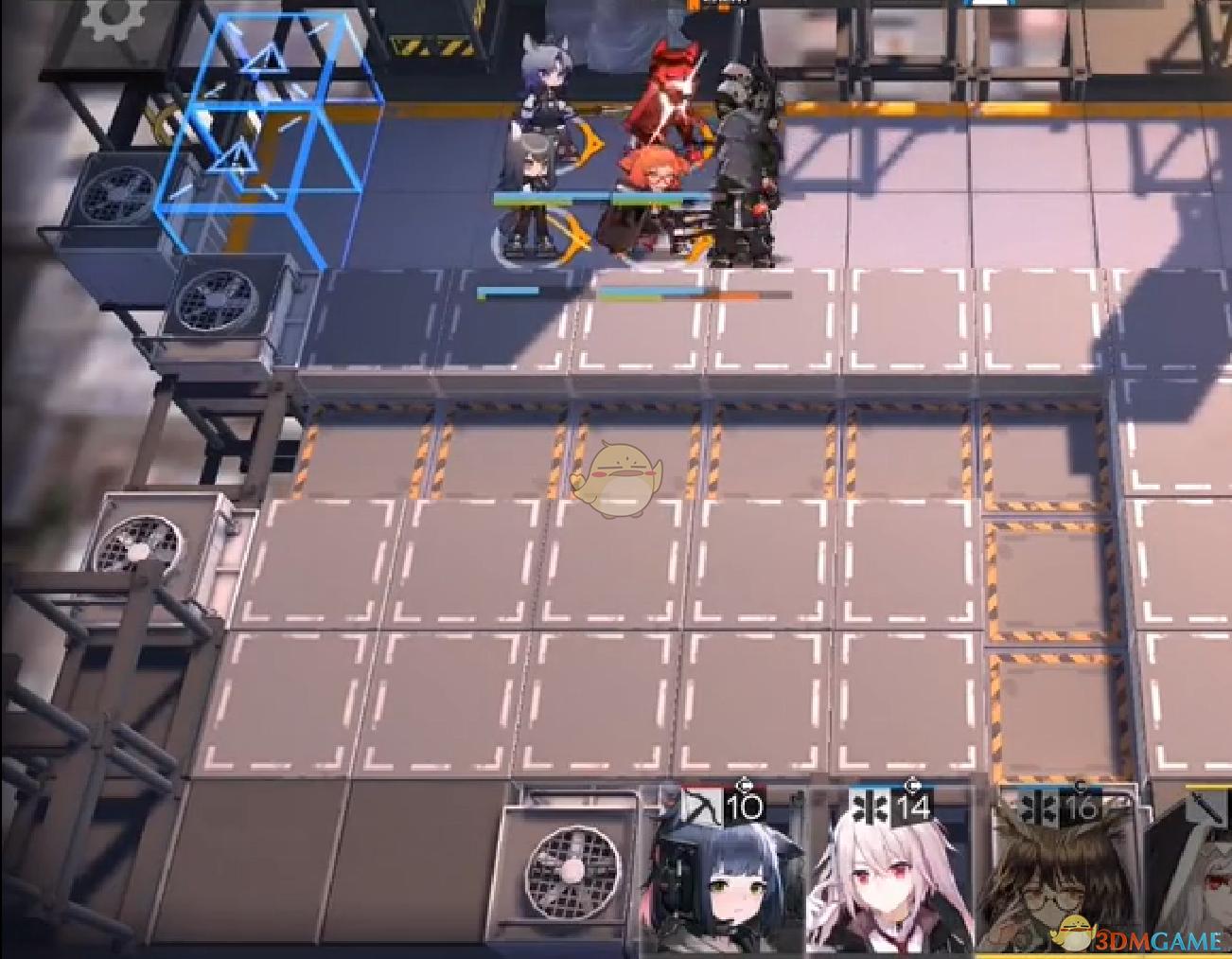 《明日方舟》S2-10关卡攻略