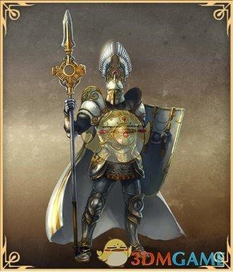 《魔法门之英雄无敌:王朝》圣堂兵种集结展示