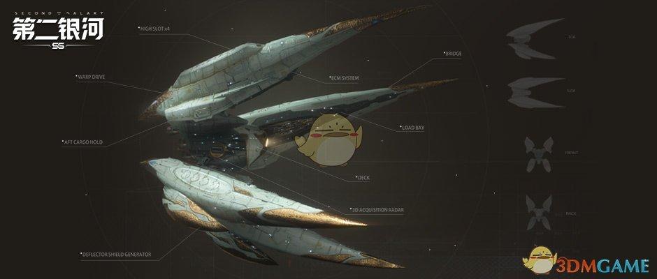 《第二银河》诅咒级舰船介绍