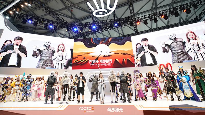 游族网络2019ChinaJoy:SG和Coser质量真的高