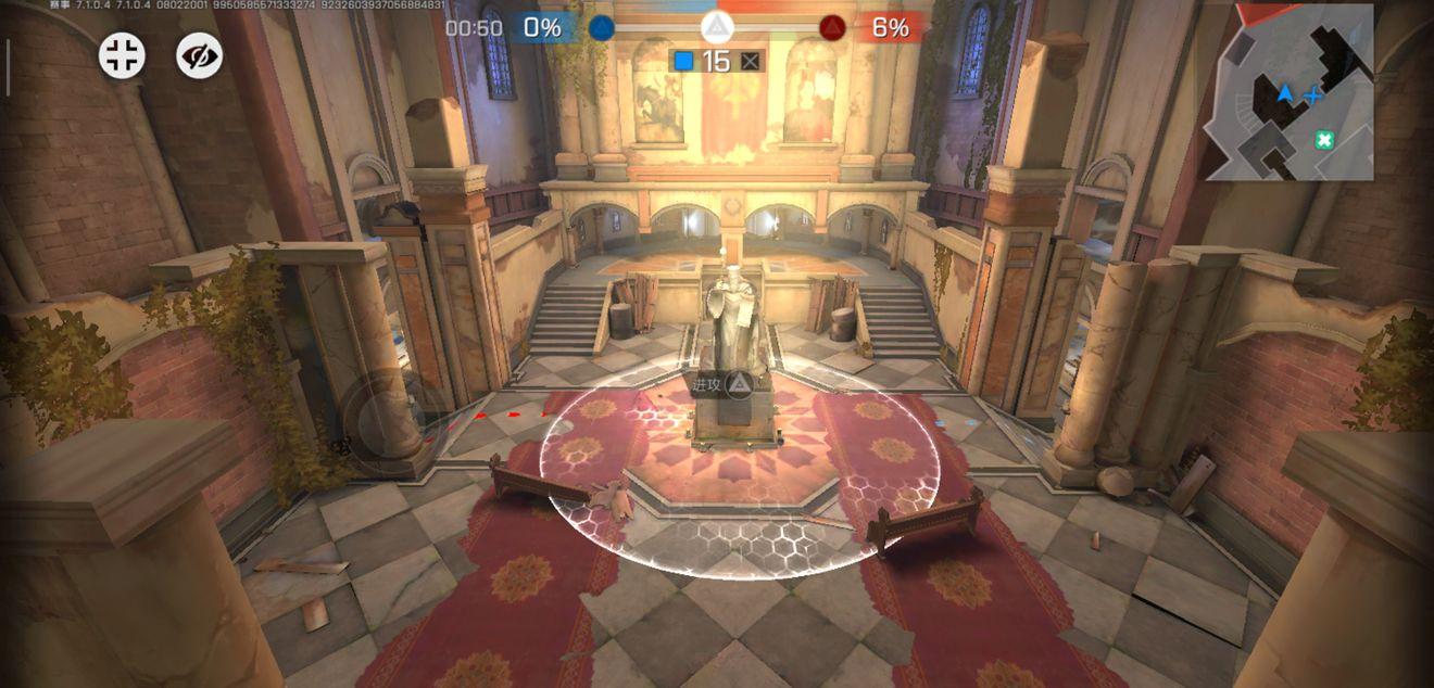 《王牌战士》北境教堂-血包位置及OB视角概览