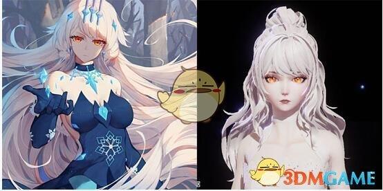 《龙族幻想》律化娜捏脸数据ID分享
