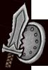《失落城堡》武器图鉴-钢质短剑(剑盾)