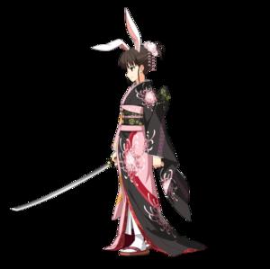 《FGO》二仪式-简易灵衣斩首兔女郎 (第二再临)图鉴介绍