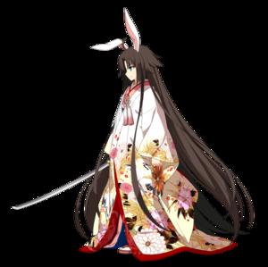 《FGO》二仪式-简易灵衣斩首兔女郎 (第三再临)图鉴介绍