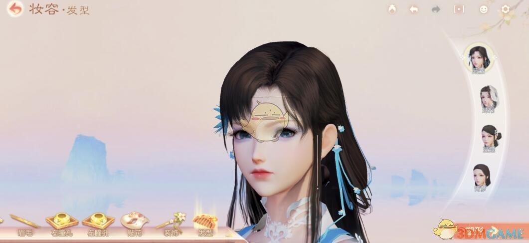 《花与剑》捏脸图片大全分享