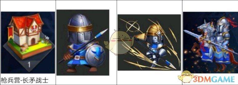 《幻斗英雄》人族兵种长矛战士分析心得分享