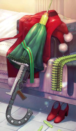 《命运冠位指定》圣诞节快乐礼装图鉴