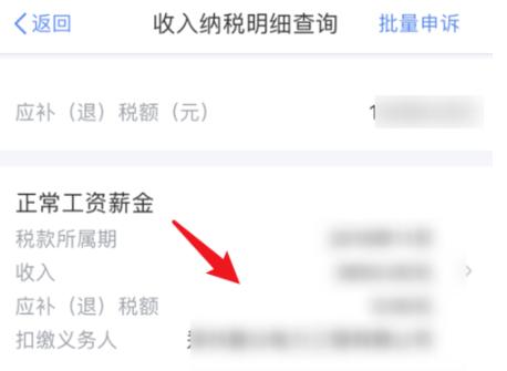 《个人所得税》app查询缴费记录方法