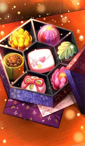 《命运冠位指定》日式点心风巧克力与信礼装图鉴