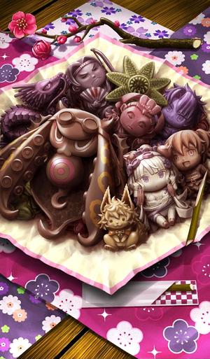 《命运冠位指定》巧克力巧克力章鱼根附礼装图鉴