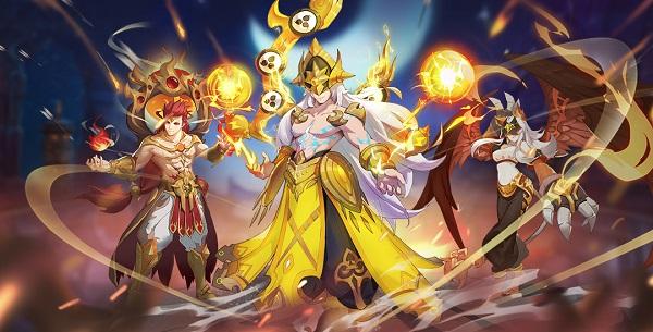 《闪烁之光》版本升级 全新水系海神开启海战时代!