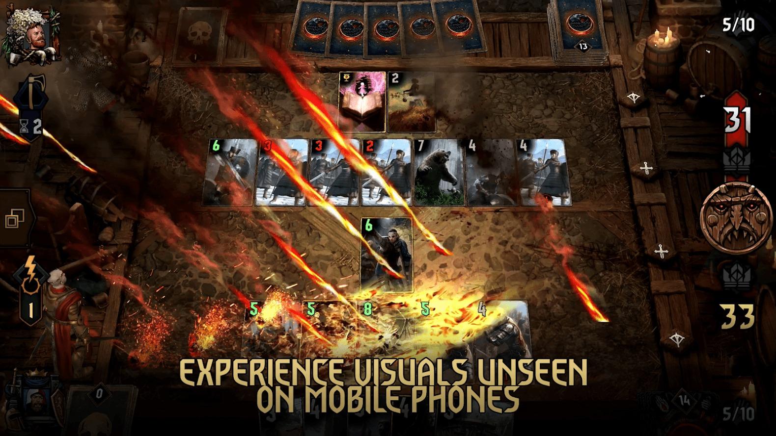 《巫师之昆特牌》已登陆安卓手机平台 来把昆特牌吧!