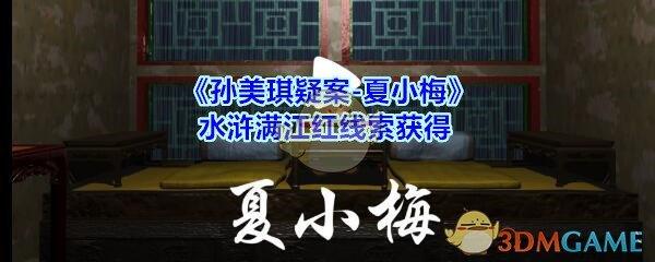 《孙美琪疑案-夏小梅》水浒满江红线索获得