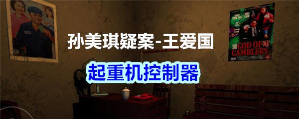 《孙美琪疑案-王爱国》起重机控制器线索获得