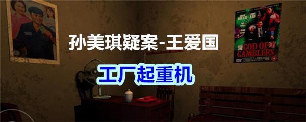 《孙美琪疑案-王爱国》工厂起重机线索获得