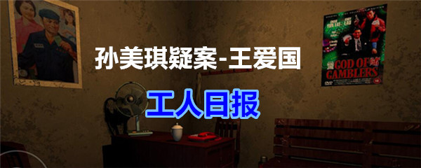 《孙美琪疑案-王爱国》工人日报线索获得