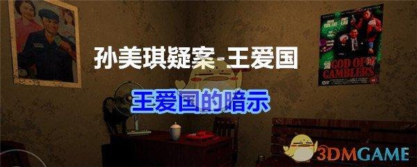 《孙美琪疑案-王爱国》王爱国的暗示线索获得