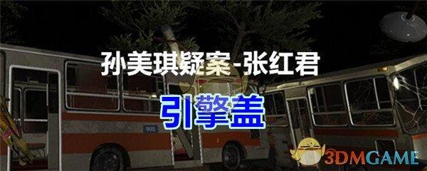 《孙美琪疑案-张红君》五级线索——引擎盖
