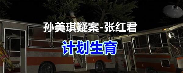 《孙美琪疑案-张红君》五级线索——计划生育