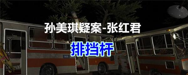 《孙美琪疑案-张红君》五级线索——排挡杆