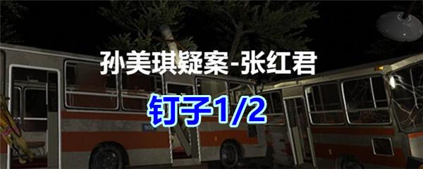 《孙美琪疑案-张红君》五级线索——钉子1/2