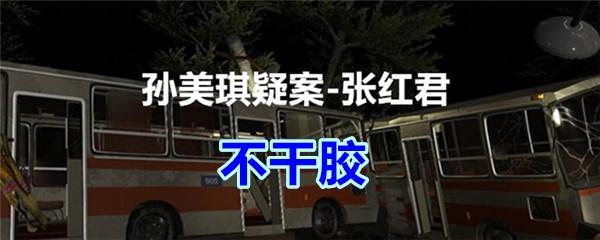 《孙美琪疑案-张红君》四级线索——不干胶
