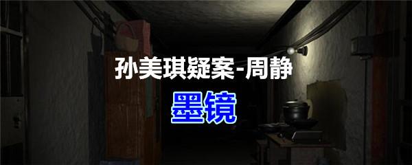 《孙美琪疑案-周静》五级线索——墨镜