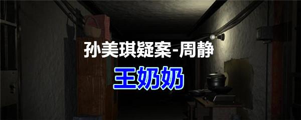 《孙美琪疑案-周静》五级线索——王奶奶