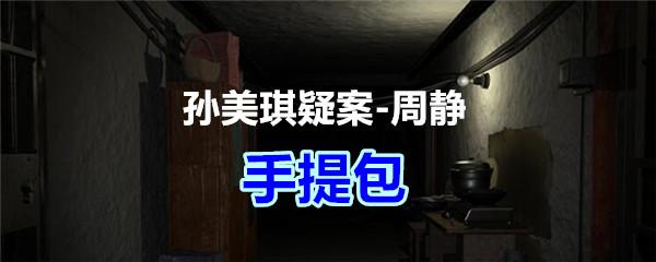 《孙美琪疑案-周静》五级线索——手提包