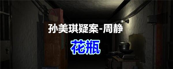 《孙美琪疑案-周静》五级线索——花瓶