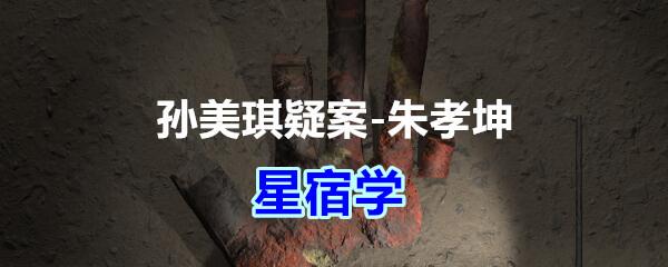 《孙美琪疑案-朱孝坤》五级线索——星宿学
