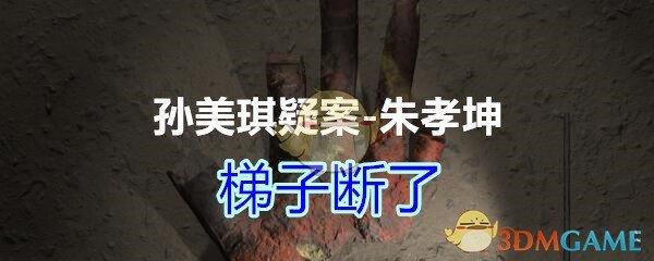 《孙美琪疑案-朱孝坤》五级线索——梯子断了