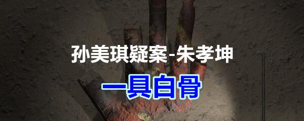 《孙美琪疑案-朱孝坤》五级线索——一具白骨