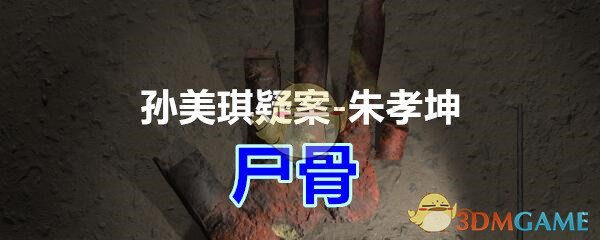 《孙美琪疑案-朱孝坤》五级线索——尸骨