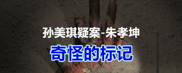 《孙美琪疑案-朱孝坤》四级线索——奇怪的标记