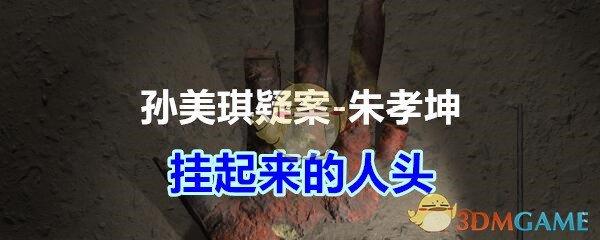 《孙美琪疑案-朱孝坤》四级线索——挂起来的人头