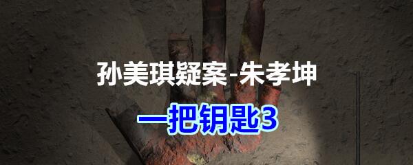 《孙美琪疑案-朱孝坤》三级线索——一把钥匙3